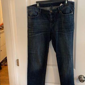 GAP blue jeans size 33/16
